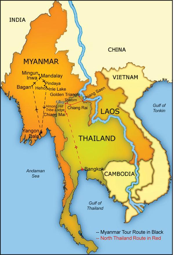 Splendors Of South East Asia Burma North Thailand Laos And Cambodia
